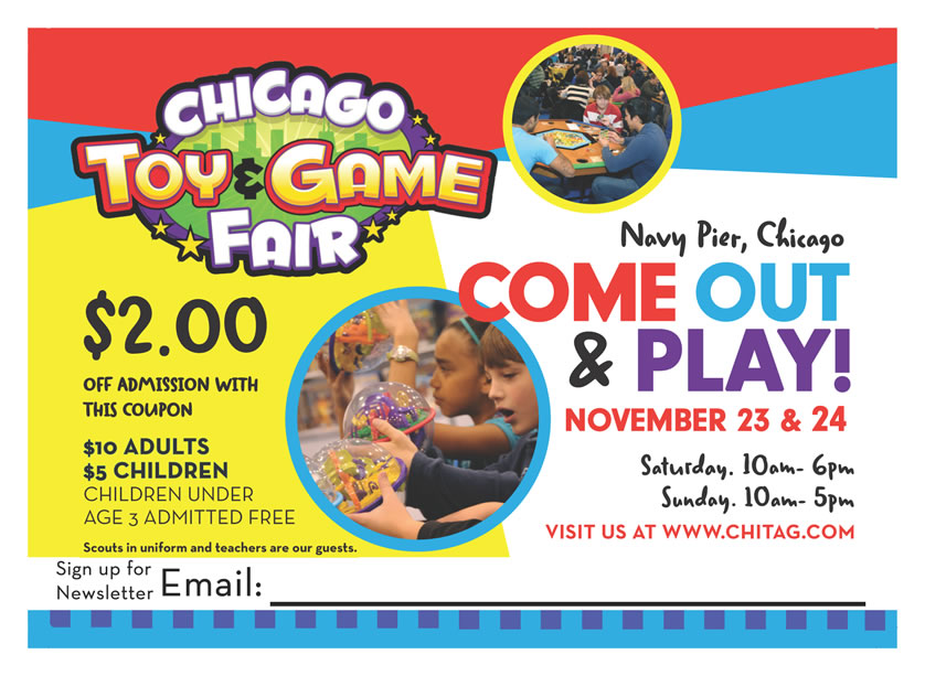 Our First Year At Chicago Toy Game Fair Blue Orange Games Blog