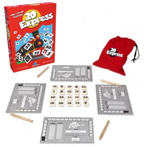 20 Express Numbers Bingo Game