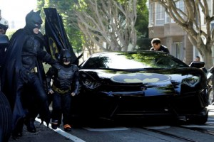 Bat Mobile Batkid SF