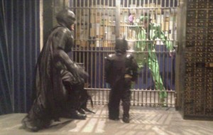 riddler behind bars Batkid