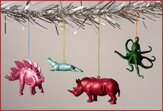 holiday crafts animal ornaments