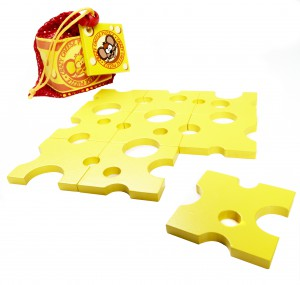 Crazy Cheese Puzzle